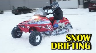 SNOW DRIFTING aka LINTTA video