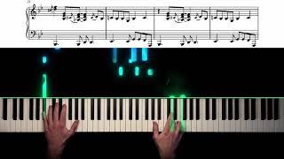 Mercy, Mercy, Mercy - Jazz Piano Cover + Sheet Music видео