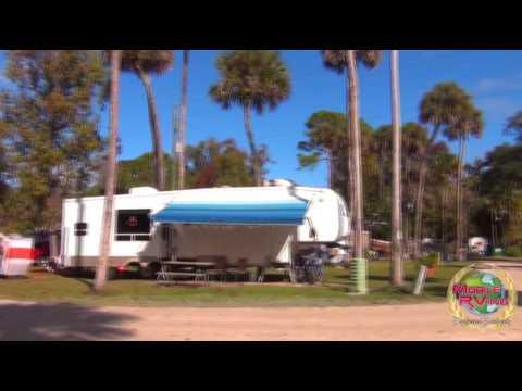 New Smyrna Beach RV Park And Campground New Smyrna Beach Florida