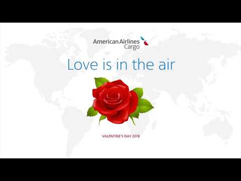 Love is in the air - American Airlines Cargo