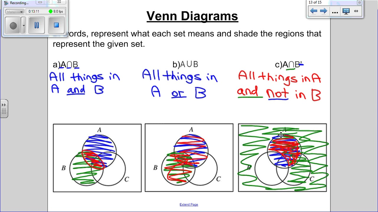 Math 30 2 lesson 14 three circle venn diagrams youtube math 30 2 lesson 14 three circle venn diagrams pooptronica