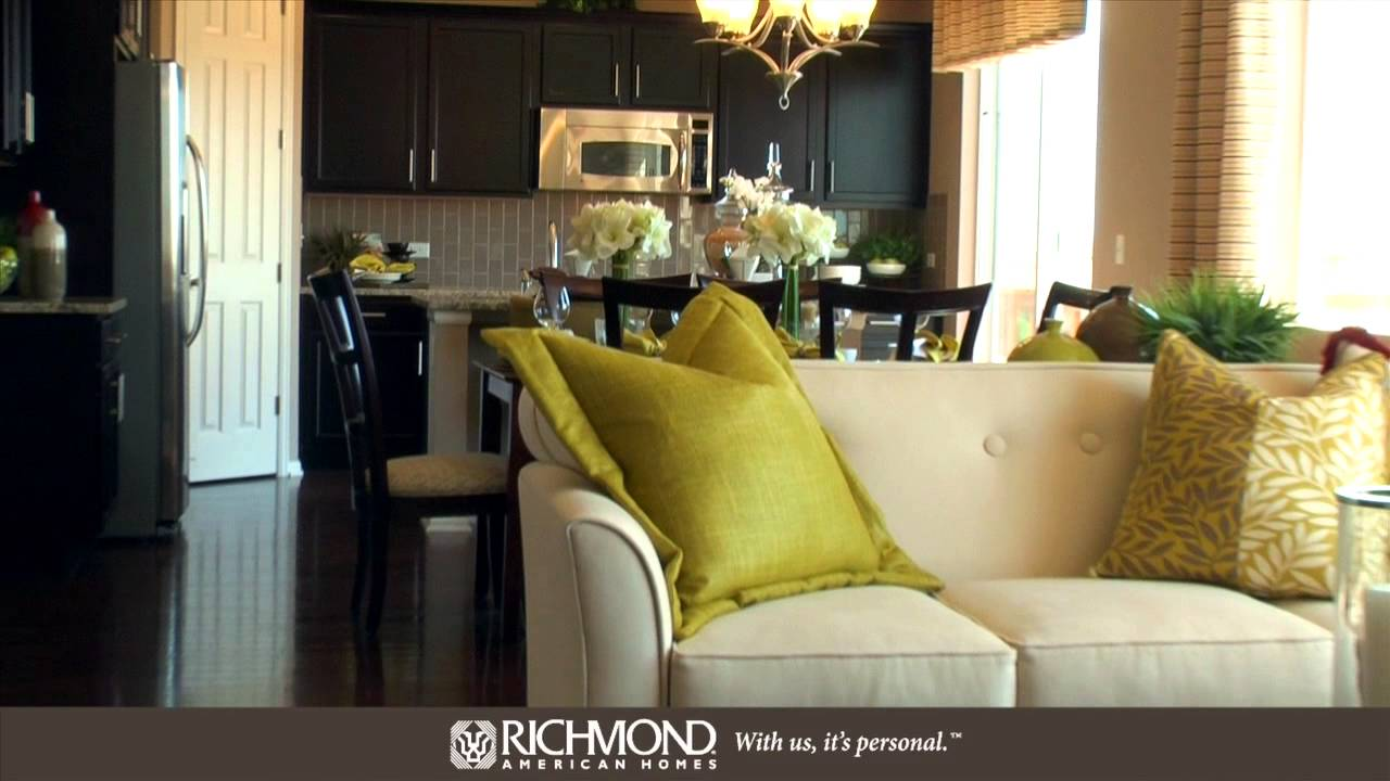 The Alcott Floor Plan By Richmond American Homes