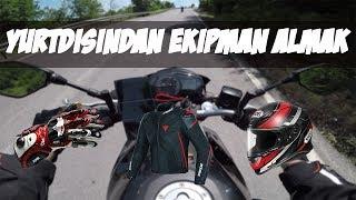 Yurtdışından Motosiklet Ekipmanı Almak (Kask/Mont/Eldiven/Ayakkabı/Aksesuar) Video