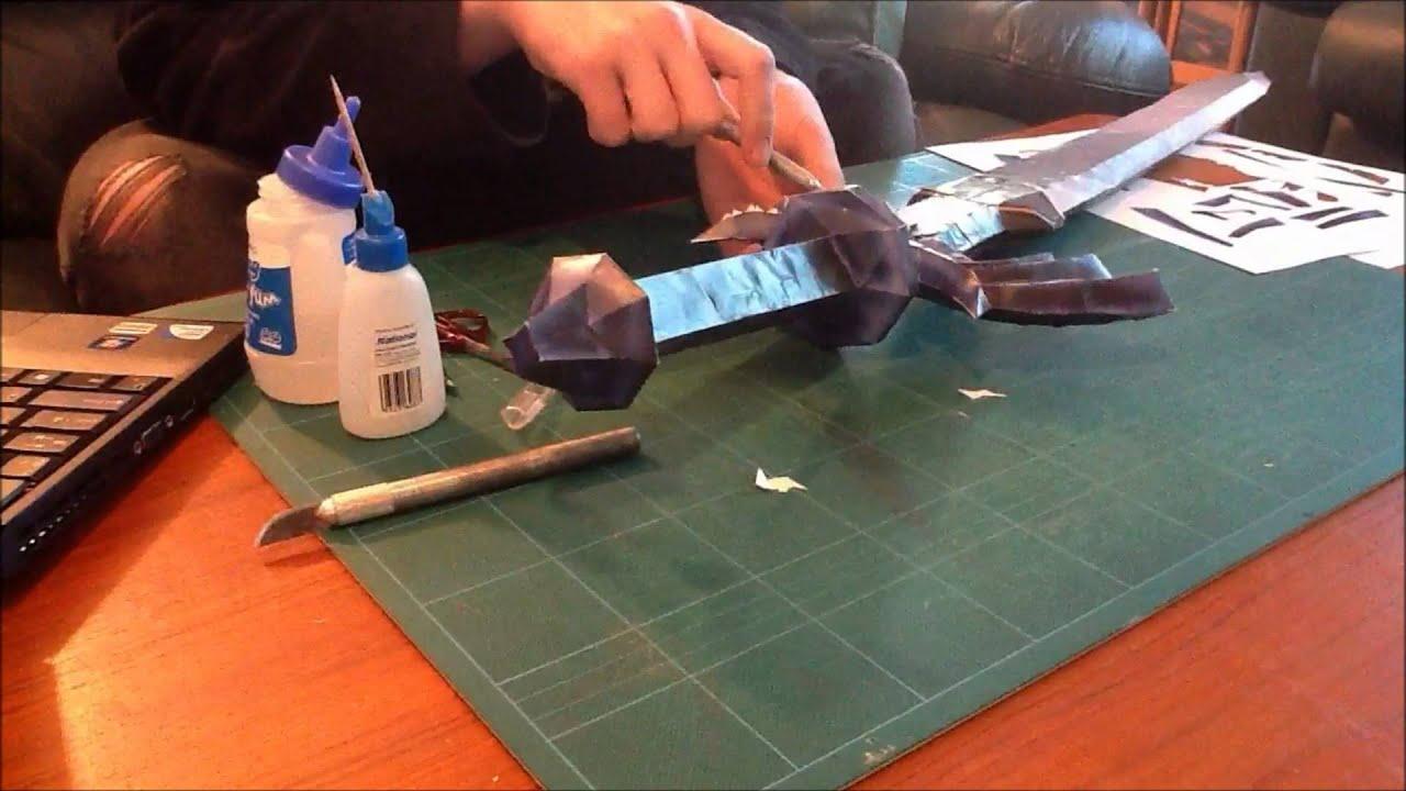 Legend Of Zelda Papercraft The Master Sword By Crococraft – Dibujos