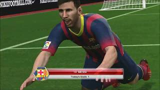 Pro Evolution Soccer 2014 Gameplay Barcelona vs Madrid HD