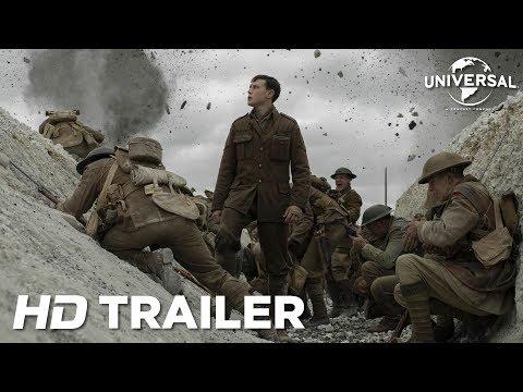 1917 | Nuevo tráiler subtitulado (HD) películas en un solo plano
