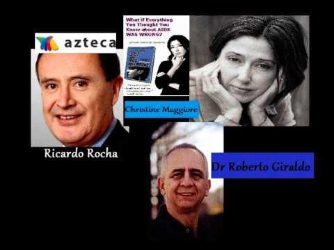 Ricardo Rocha Interviews Christine Maggiore on Aztec TV