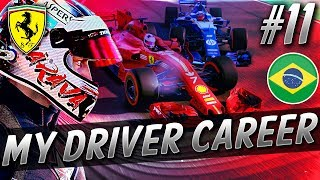 THIS RACE CHANGES EVERYTHING FOR THE TITLE FIGHT!!! - F1 MyDriver CAREER S8 PART 11: BRAZIL