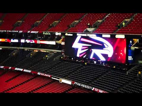 PreGame Seattle Seahawks Atlanta Falcons 2016 Playoff Game From Upper Deck