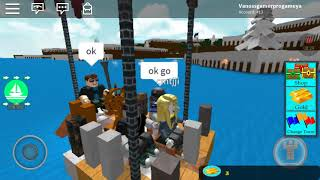 Roblox with my family and friend