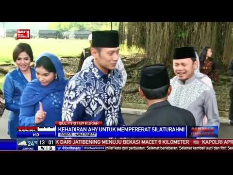 AHY Hadiri Open House Di Istana Bogor