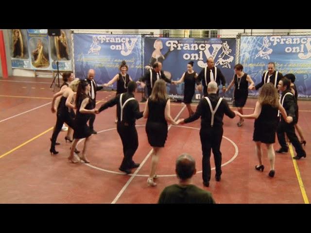 15° spettacolo ASD Francy Only Dance - Salsa in rueda 'Duele él corazon'