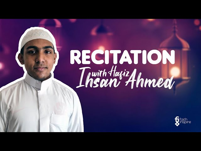 Quran Recitation with Hafiz Ihsan Ahmed - Juz 29