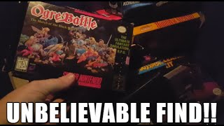 SO MANY RARE BOXED NINTENDO GAMES!!! - Live Video Game Hunting Ep. 109