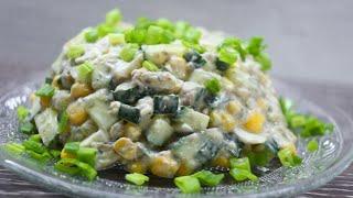 ПРОСТО БОЖЕСТВЕННЫЙ салат со шпротами. первым улетает со стола!