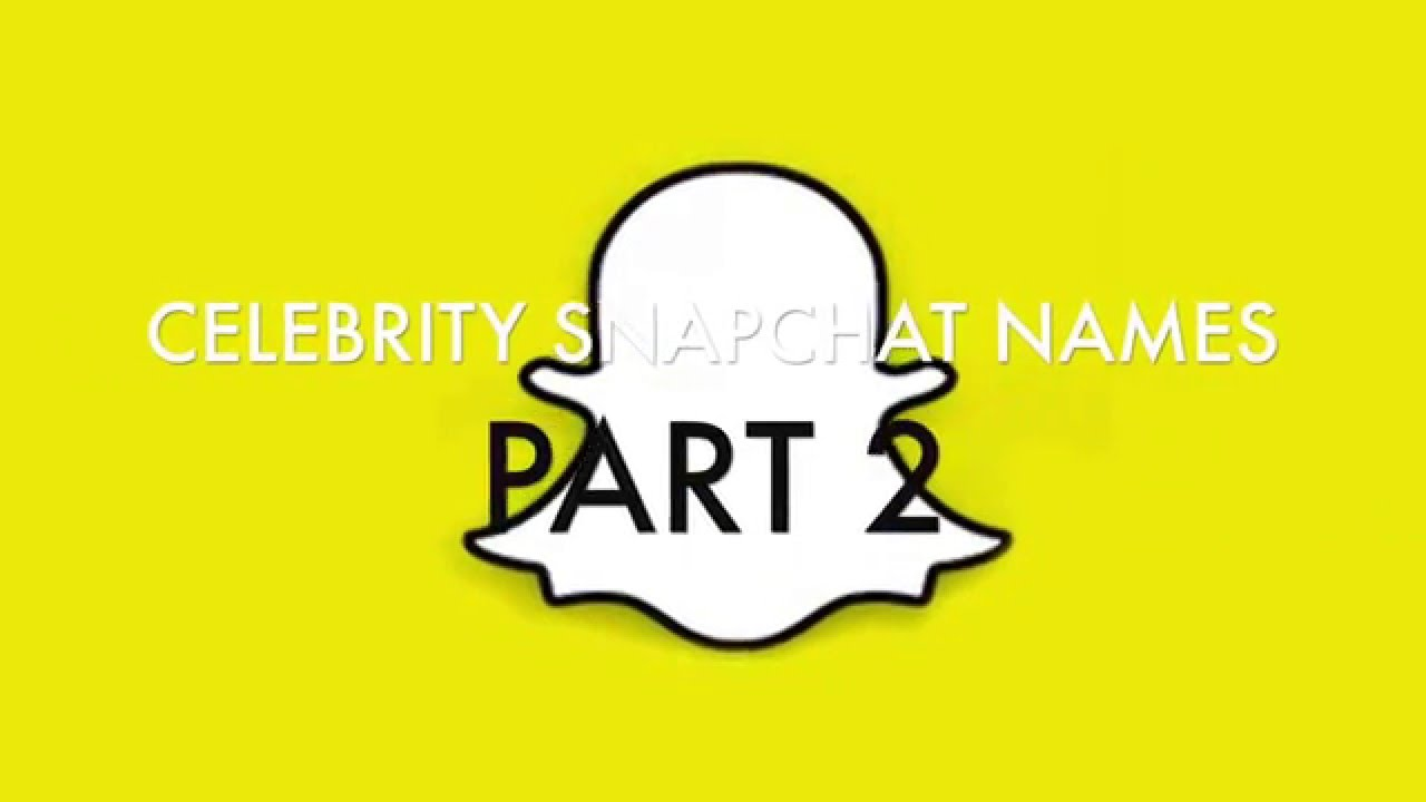 how to find snapchat names