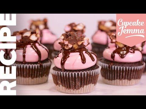 How To Make Rocky Road Cupcakes   Cupcake Jemma