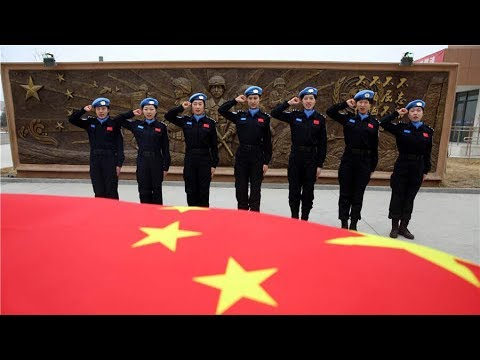China's peacekeeping police force sees first batch of female graduates