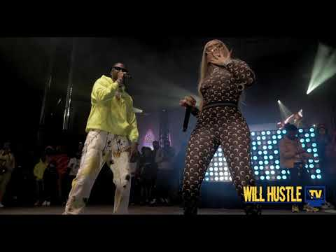 MULATTO PERFORMS QUARANTINE THICK WITH 2 CHAINZ AND MUWOP & B*TCH FROM THE SOUTH AT ATLANTA PARKING