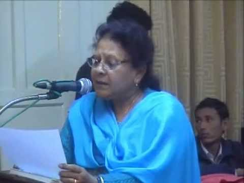 manjeet marwaha reciting poem of mahadevi verma.wmv,