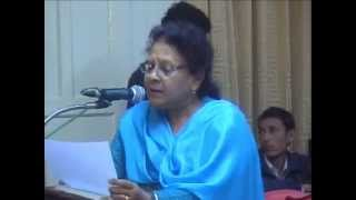 manjeet marwaha reciting poem of mahadevi verma.wmv,