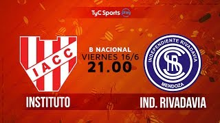 Institute vs Independiente Rivadavia full match