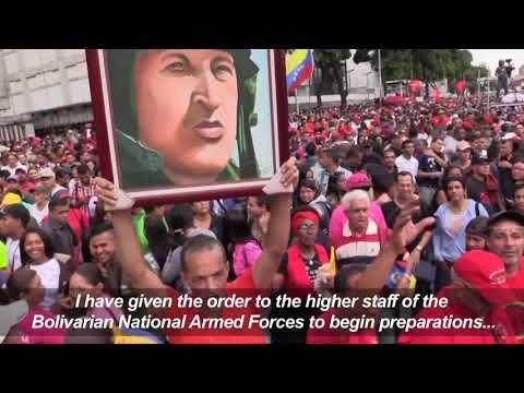 Maduro Orders Venezuela Military Drill After Trump Threat