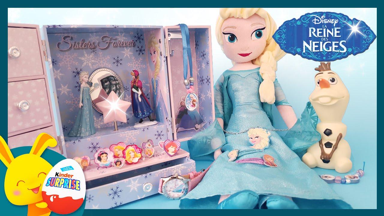 Reine des neiges boite bijoux surprises et jouets titounis youtube - Boite a bijoux reine des neiges ...