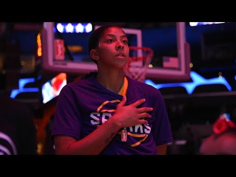 All-Access: Candace Parker in LA!
