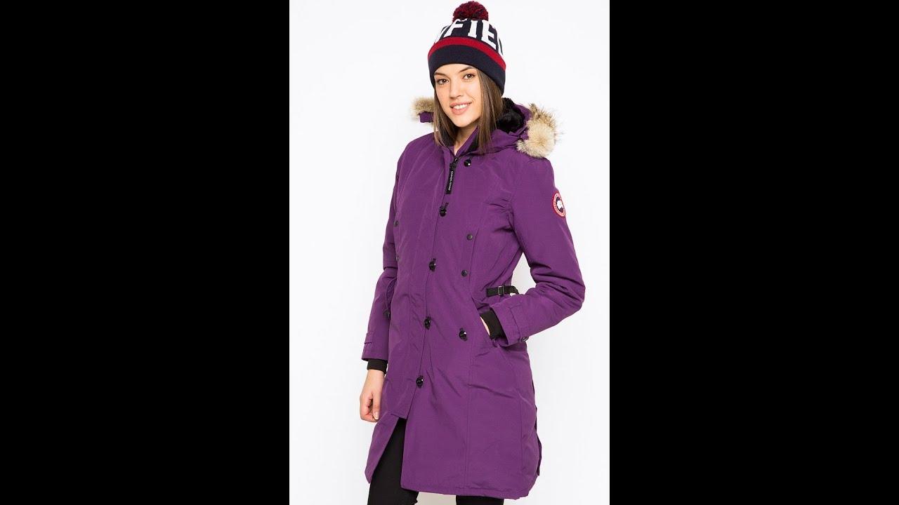 Canada goose kensington parka purple
