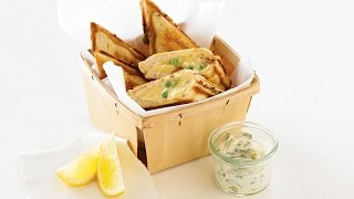 How to Make the Best Monkfish, Bacon & Green Pea Jaffle - By  Jafe Jaffles and Breville Australia