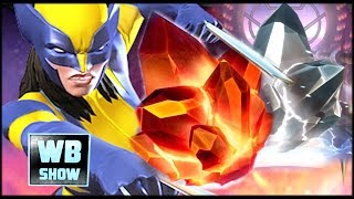Marvel: Contest of Champions - Cloned Wolverine Girl X-23 + 4-Star Crystals Opening!