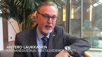 Antero Laukkanen: Rahankeräyslaki hämmentää seurakuntia