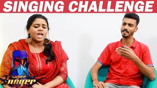 Punya Vs Vikram | Sensational Singing Combo | Uppu Karuvadu | Vijay tv | Supersinger
