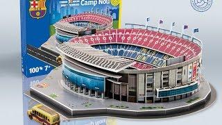 """""""Camp Nou"""" del FC Barcelona   Nanostad - Puzzle 3D"""
