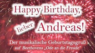 Скачать Happy Birthday Lieber Andreas Alles Gute Zum Geburtstag