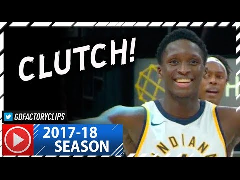 Victor Oladipo Full Highlights vs Bulls (2017.12.06) - 27 Pts, CLUTCH!
