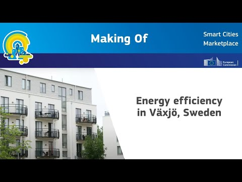 Making of - video production on energy efficiency in Växjö, Sweden