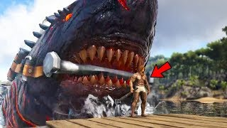 Download Video Ark Survival Evolved - GIANT NEW COLOSSUS MEGALODON BOSS SHARK! - Ark Modded Gameplay MP3 3GP MP4