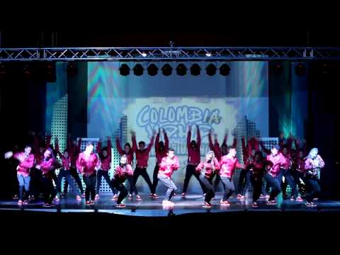 THRONE FAMILY (Mega Crew) | HHI COLOMBIA 2016