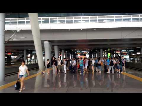 Hangzhou - High speed train to Shanghai - Part 1