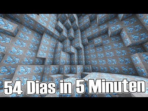 54 DIAS IN 5 MINUTEN! - CraftAttack 5 #52