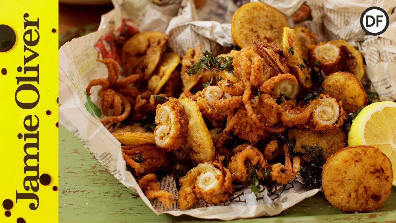 Jamies crispy fried squid youtube jamies crispy fried squid forumfinder Image collections