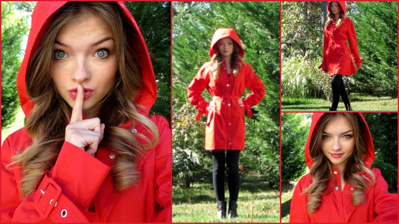 Red Coat Costume (Makeup, Hair & Outfit) - YouTube