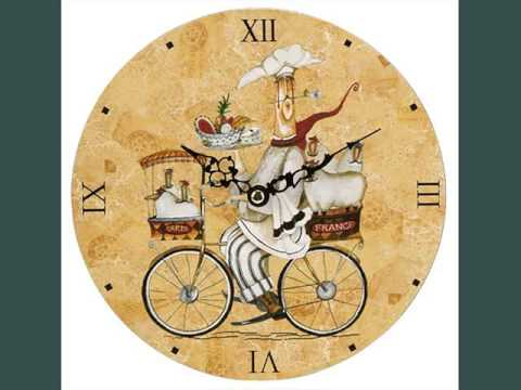 kitchen wall clocks tile countertop clock designs for youtube
