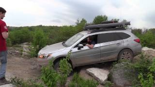 2015 Subaru Outback Off Road Rock Crawl