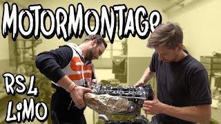 Es geht wieder los! Wir montieren den 2019er RS4 Limo Motor bei BP-Motorentechnik | Philipp Kaess |