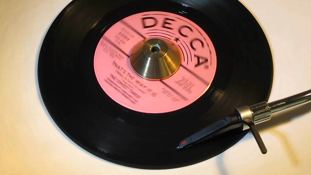 Download THE SWEET THREE   THAT'S THE WAY IT IS  DECCA 32005
