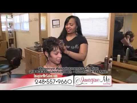 IMAGINE ME SALON TV COMMERCIAL- Southfield. MI