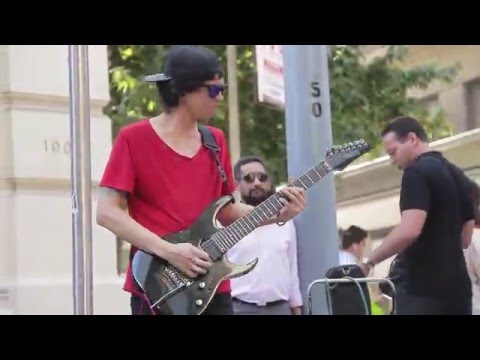 Aces High - Iron Maiden (Busker Cover) - Juan Pablo de la Reguera